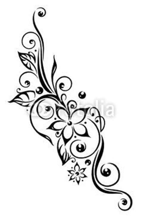 ideas  black flower tattoos  pinterest