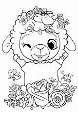 Coloring Sheep Cuties Printable Bojanke Animal Desenhos Riscos Printables Disney Coloriage Preschool Colorir Pintar Za Dessin Colouring Kawaii Bonton Imprimir sketch template