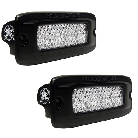 rigid led lights rigid industries 98003 sr q series led back up light