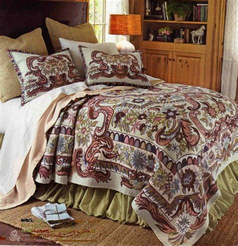 Coverlet For Bed by Multi Color Tapestry King Bed Coverlet With