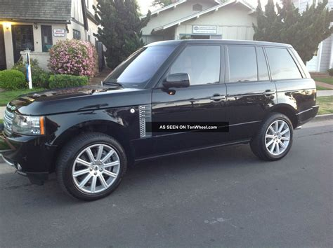 land rover 2010 2010 range rover supercharged