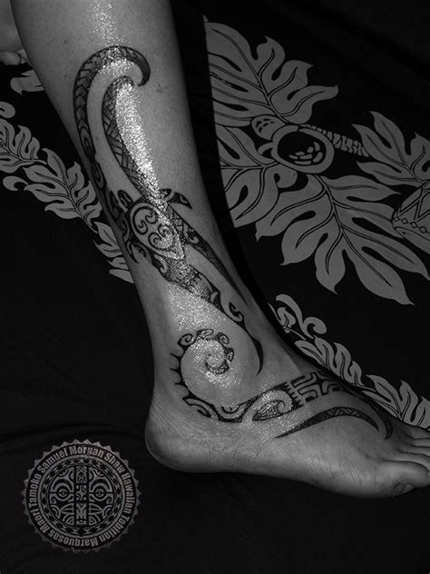 Womens' Polynesian Tattoos   The Tattoo Work of Samuel Morgan Shaw   Ink!   Polynesian tattoos