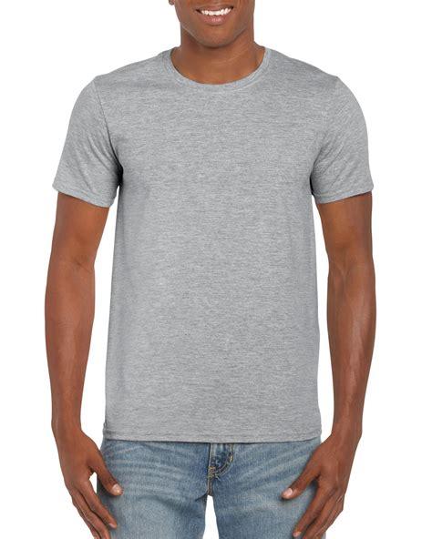 grey vneck 64000 gildan softstyle 4 5 oz yd t shirt