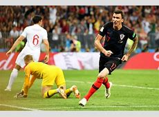 England 1 Croatia 2 AET Mandzukic breaks Three Lions