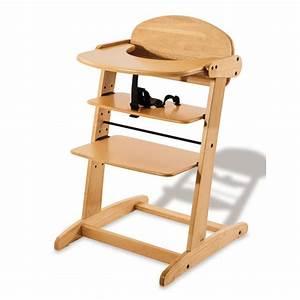 Chaise Repas Bébé : chaise haute b b bruno vernis transparent pinolino ~ Teatrodelosmanantiales.com Idées de Décoration