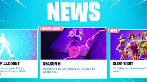 New Season 6 Fortnite Teaser