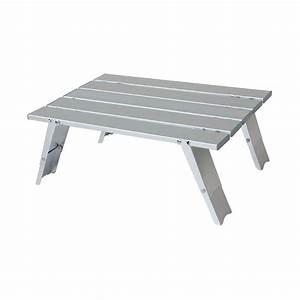 Table Camping Pliable : mini table pliable de camping en alu yellowstone ~ Farleysfitness.com Idées de Décoration