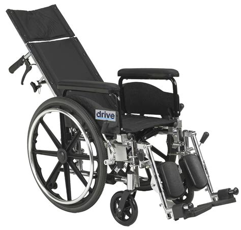 chaise handicap amazon com drive viper plus gt reclining