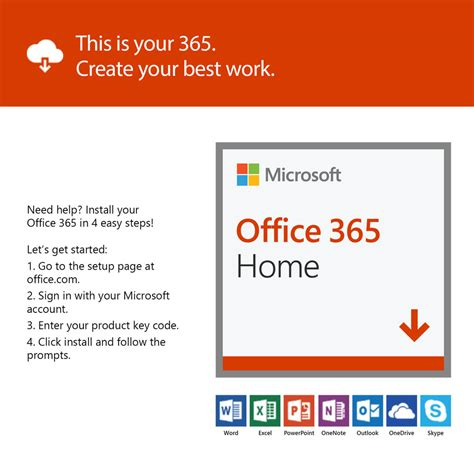 Office 365 Year by Office 365 Home 1 Year Subscription Ebuyer
