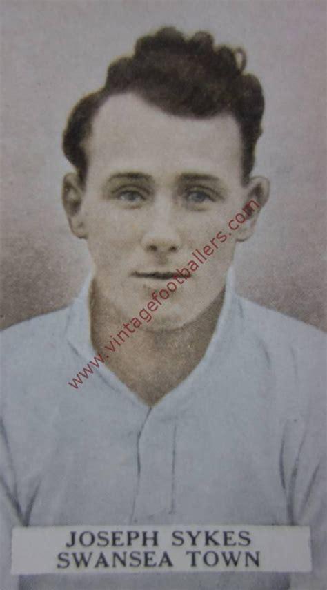 sykes joe image  swansea town  vintage footballers