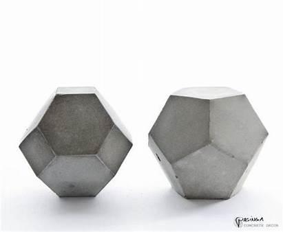 Concrete Decor Modern Geometric Sculpture Beton Cement
