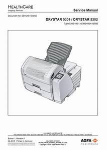 Agfa Drystar 5301  Drystar 5302 Service Manual    Various