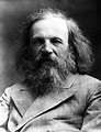 Dmitry Ivanovich Mendeleyev, Rusian chemist, c 1900s ...