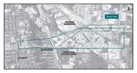 marion street widening study construction public works