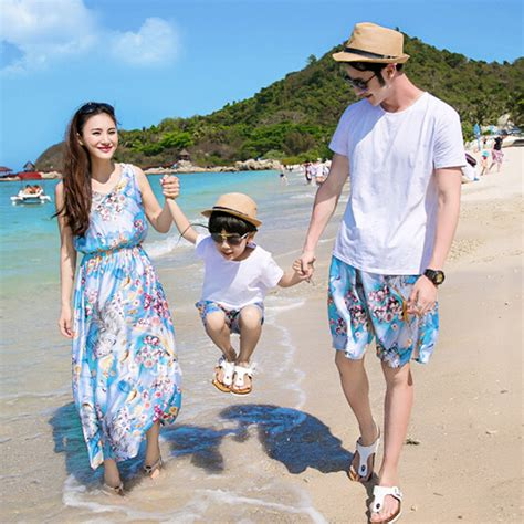 Matching Summer Family Clothing Set Ideas for Picnic Lovers u2013 Designers Outfits Collection