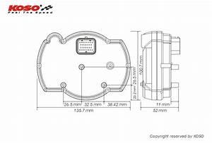Koso Speedometer Wiring Diagram