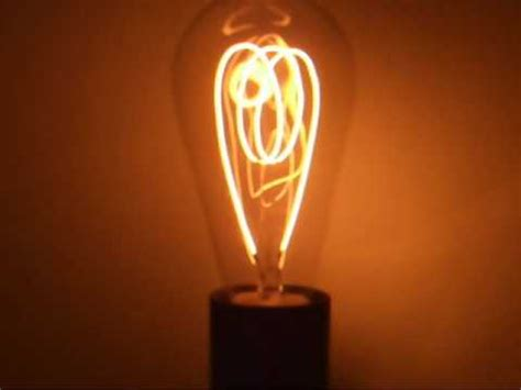 100 year carbon filament light bulb