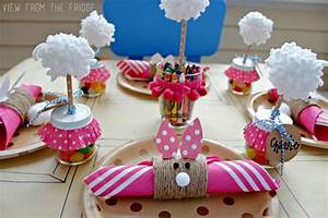 Easter Kids Table Setting - View From The FridgeView From