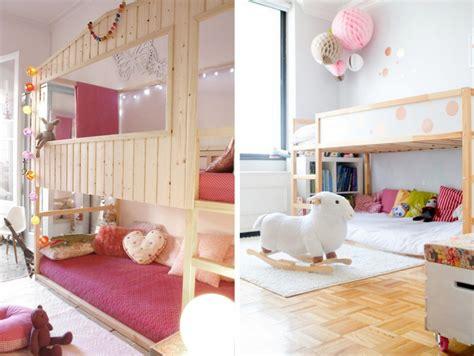 bureau lit mezzanine 10 idées pour hacker le lit enfant kura joli place