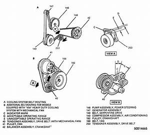 1995 Oldsmobile Aurora Serpentine Belt Routing And Timing