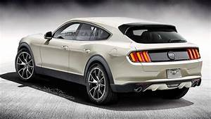 The Mustang-inspired SUV will be unveiled this year - Motor Illustrated