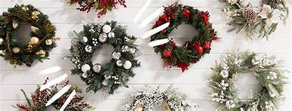 Christmas Hq Floral Wreath Decorations Holiday Hero