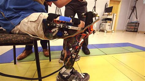 robotic suit helps with cerebral palsy walk cnn