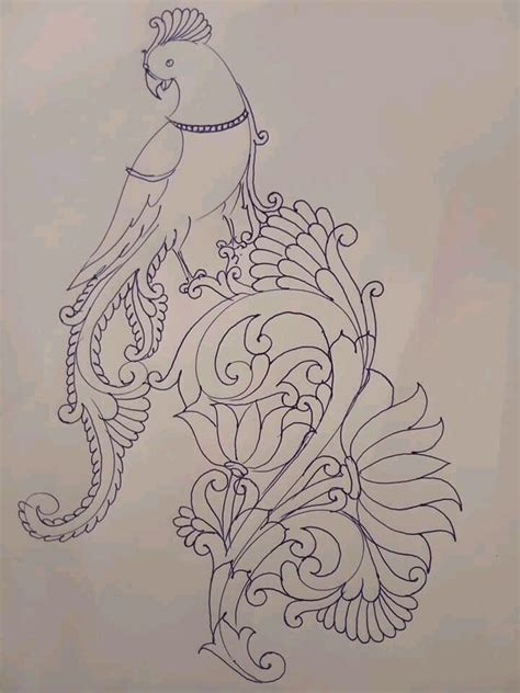 drawing  dress drawing  dress fabric paint designs