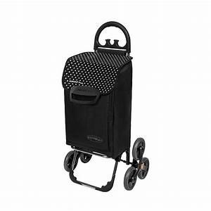 Chariot De Course Leclerc : chariot de courses 6 roues noir chariots et paniers de ~ Dailycaller-alerts.com Idées de Décoration