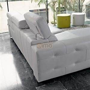 canape relaxation pedro ortiz moderne cuir tetieres With canape cuir de marque