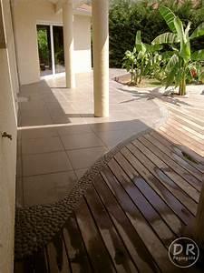 nivremcom terrasse bois et carrelage diverses idees With terrasse en bois ou carrelage