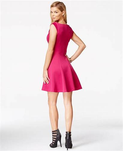 Guess Flare Neck Pink