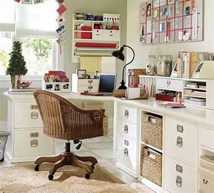 Kleiner Schreibtisch Mit Viel Stauraum : schreibtisch selber bauen dank dieser 15 tollen inspirationen ~ Indierocktalk.com Haus und Dekorationen