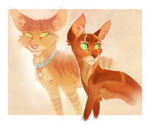 firestar warrior cats firestar and jake by finchwing on deviantart