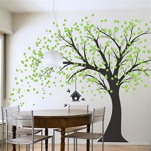 Wall decal nice tree decals for walls cheap tree decals for Cheap wall decals