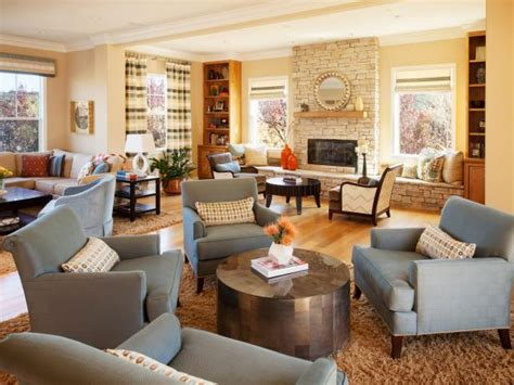 Large Living Room With 2 Seating Areas by Large Transitional Family Room With Sitting Areas