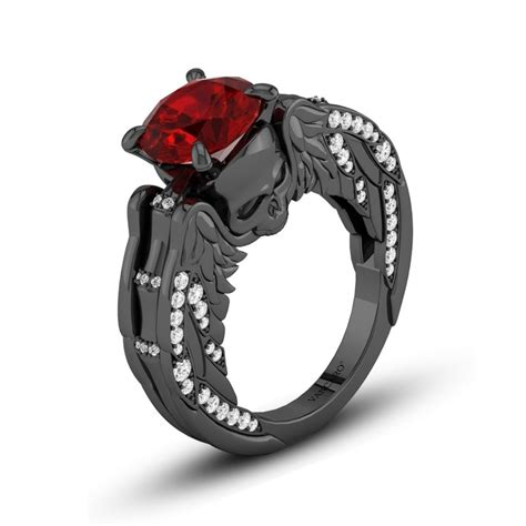 Luxury Red And Black Engagement Rings. Forged Iron Wedding Rings. Square Circle Engagement Rings. Bridal Shower Rings. African Blackwood Wedding Rings. Garnet Accent Wedding Rings. Octagon Rings. Sacramento Kings Rings. Rhodolite Garnet Rings