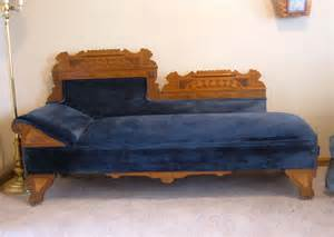 Fold Out Bed Fainting Couch Antique