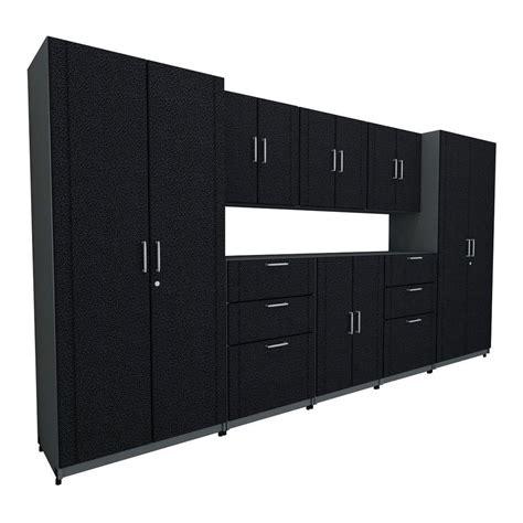 Closetmaid Black - closetmaid 136 in w x 73 25 in h x 18 75 in d premium