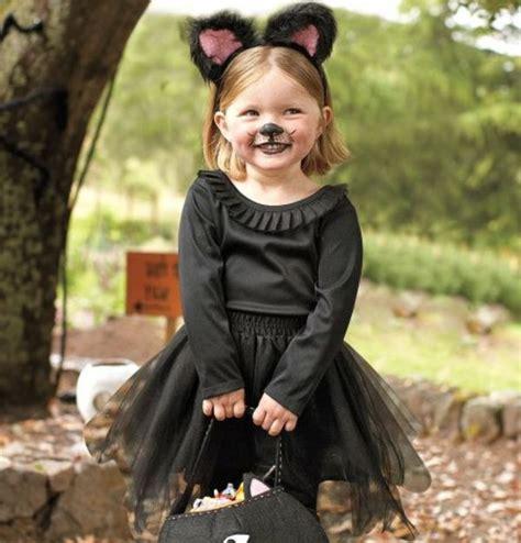 halloween kostueme fuer kinder eine katze costume