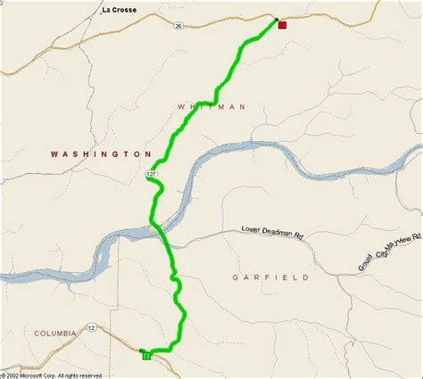 Washington State Route 127  Motorcycle Roads Northwest