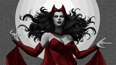 Witch Scarlet Wallpapers Background Avengers Comics Widow