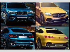 BildVergleich Mercedes GLC Coupé vs BMW X4