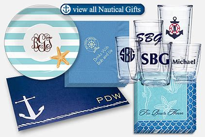 » Set Sail For Stylish Fun With Nautical Themed Gifts