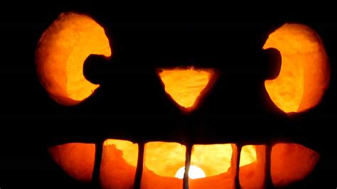 Totoro Pumpkin Carving by Totoro Pumpkin 3 Youtube