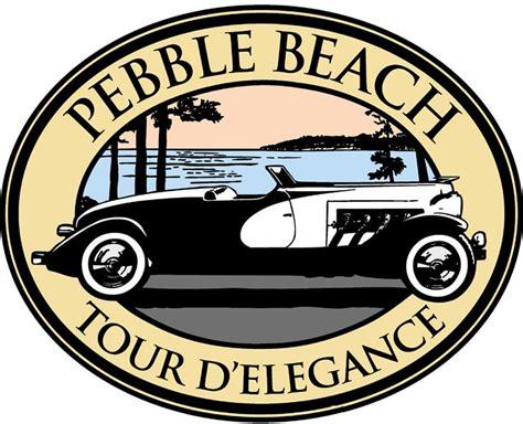 Resultado de imágenes de logo de Pebble Beach Concours d'Elegance