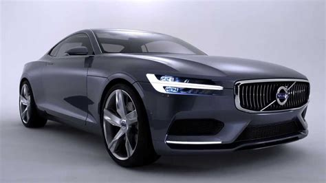 volvo launches  volvo concept coupe  remake