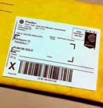 Express post utrikes
