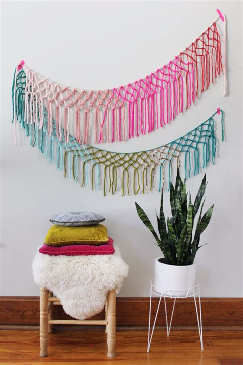 creative  easy diy projects   yarn