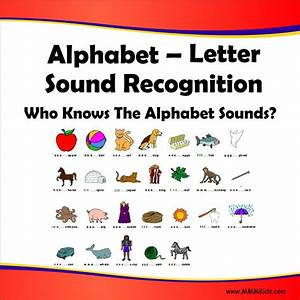 letter sound recognition who knows the alphabet sounds With alphabet letter and sounds